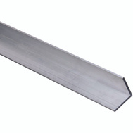 National Hardware N342-089 Solid Angle 1/8 Inch Thick 36 Inch By 1-1/2 Inch Mill Finish Aluminum