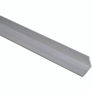 National Hardware N342-105 Solid Angle 1/8 Inch Thick 48 Inch By 1-1/4 Inch Mill Finish Aluminum