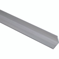 National Hardware N342-113 Solid Angle 1/8 Inch Thick 96 Inch By 1-1/4 Inch Mill Finish Aluminum