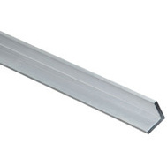 National Hardware N342-154 Solid Angle 1/8 Inch Thick 36 Inch By 2 By 3/4 Inch Mill Finish Aluminum