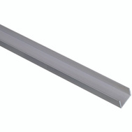 National Hardware N342-287 Channel 1/16 Inch Thick 48 Inch By 3/4 Inch Width Mill Finish Aluminum