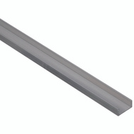 National Hardware N342-311 Channel 1/16 Inch Thick 48 Inch By 5/8 Inch Width Mill Finish Aluminum