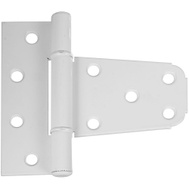 National Hardware N342-568 N342-865 S808-741 Gate T Hinge For Vinyl Gates 3-1/2 Inch White Aluminum