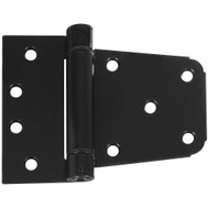 National Hardware N342-774 Heavy Duty Auto Close Gate Hinge 3-1/2 Inch Black Painted Steel