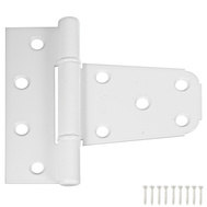 National Hardware N342-865 N342-568 S808-741 3-1/2 By 3 Inch Gate T Hinge For Vinyl Gates White