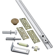 National Hardware N343-715 Bi-Fold Folding Door Hardware Set 2 Door 36 Inch