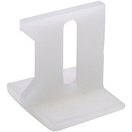 National Hardware N344-838 Pocket Door Guides Nylon White 2 Pack
