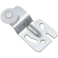 National Hardware N344-887 By-Passing Sliding Door Hangers 1/2 Inch Offset Zinc Plated Steel 2 Pack