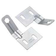 National Hardware N344-895 Bi-Fold Folding Door Aligner Set Zinc Plated Steel