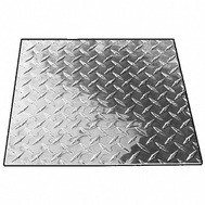 National Hardware N347-005 Weldable Tread Plate 24 Inch By 24 Inch Plain Steel