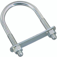 National Hardware N347-807 U-Bolt, Plate & Nuts 1/2 By 3 By 5-1/2 Inch Zinc Plated Steel