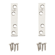 National Hardware N348-367 3 By 5/8 Inch Stainless Steel Mending Braces 2 Pack
