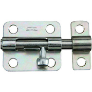 National Hardware N348-946 Barrel Bolt Stainless Steel 2-1/2 Inch Satin Finish