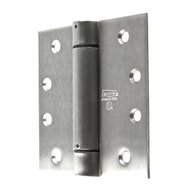 National Hardware N350-819 4 Inch Square Corner Spring Door Hinge Stainless Steel