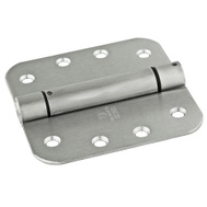 National Hardware N351-031 Spring Door Hinge 4 Inch 5/8 Radius Stainless Steel