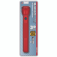 Mag Instrument SS3D036 Maglite Flashlight Kryp 3D Adj Al Red
