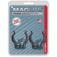 Mag Instrument ASXD026 Maglite Mounting Brackets D Cell Pack Of 2