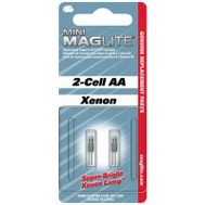Mag Instrument LM2A001 Mini Maglite 2 Cell Aa Replacement Bulb Pack Of 2