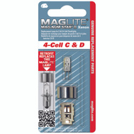 Mag Instrument LMXA401 Maglite 4 Cell C And D Replacement Bulb