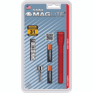 Mag Instrument M3A036 Mini Maglite Aaa Red Mini Mag Flashlight