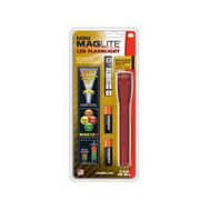 Mag Instrument SP2203H Mini Maglite Flashlight Led Mini 2Aa Red
