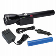 Mag Instrument ML150LR-1019 Flashlight Led W/Rchgbl Bs Blk