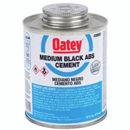 Oatey 30999 Cement Abs Med Black 4 Ounce