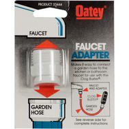 Oatey 33444 Faucet Adapter To Connect A Garden Hose To A Kitchen Or Bath Faucet
