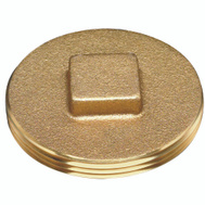 Oatey 42373 Clean Out Plug Brass 3-1/2