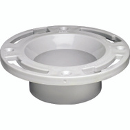 Oatey 43505 Level Fit Closet Pvc Flange 3 By 4 Inch