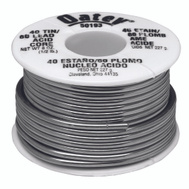 Oatey 50193 40/60 Acid Core Solder 1/2 Pound