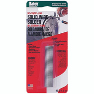 Oatey 53010 1 1/2 Ounce 50/50 Solid Wire Solder