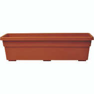 True Temper PW2412TC Southern Patio 24 Inch Promotional Window Box Terra Cotta