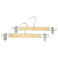 Whitmor 6026-311 Nat Wood Skirt Hanger