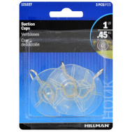 Hillman 121027 MED CLR Suction Cup