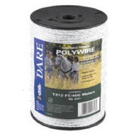 Dare 2347 1312 Foot White Poly Wire