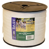 Dare 2576 1-1/2 Inch By 656 Foot White Polytape