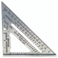 Swanson Tool S0101 Speed Square Pocket Size 7 Inch Speed Square