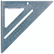 Swanson Tool T0101 Speed Square 7 By 7 By 1 Inch Speed Square