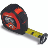 Swanson Tool SVGL25M1 Gripline Tape Measure Magnetic Gripline 25 Foot