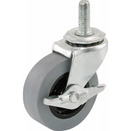 Shepherd Hardware 3264 Caster Stem Tpr W/Brake 2In