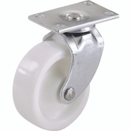 Shepherd Hardware 9052 1-1/4 Inch Swivel Plate Casters White 4 Pack