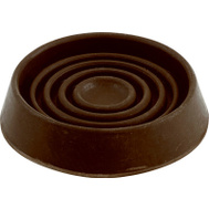 Shepherd Hardware 9067 Cups Round Rub Brown 3In 2 Pack
