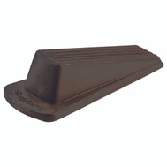 Shepherd Hardware 9133 Traditional Heavy Duty Wedge Door Stop Brown 1 Pack