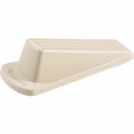 Shepherd Hardware 9163 Traditional Heavy Duty Wedge Door Stop Off White 1 Pack