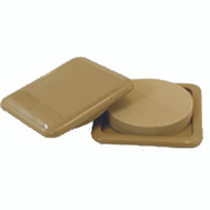 Shepherd Hardware 9336 Slide Glides 3 By 3 Inch Square Slide Glide Movers Pads Almond