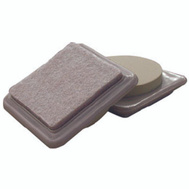 Shepherd Hardware 9369 Felt Gard 3 By 3 Inch Square Felt Furniture Slide Pads 4 Pack