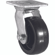 Shepherd Hardware 9388 5 Inch Polypropylene Wheel Swivel Caster