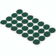 Shepherd Hardware 9421 Surface Gard 3/8 Inch Green Light Duty Felt Pads 28 Pack