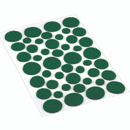 Shepherd Hardware 9423 Surface Gard 46 Piece Green Light Duty Felt Pad Assortment